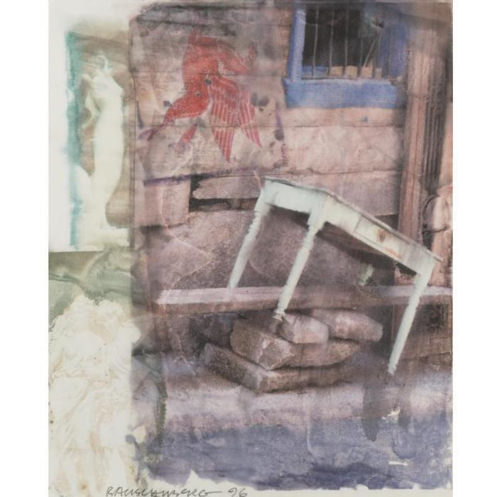 Robert Rauschenberg-Robert Rauschenberg - Turning The Tables-1996