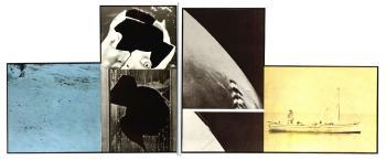 John Baldessari-Head (with Cracks)-