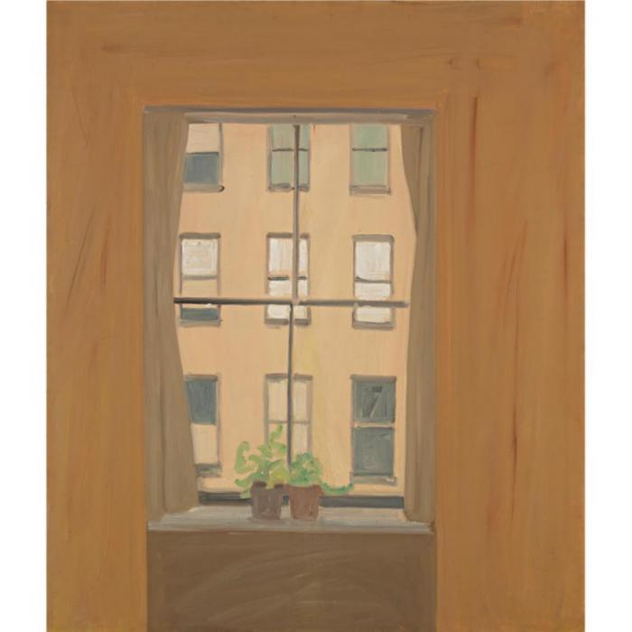 Alex Katz-January IV-1962