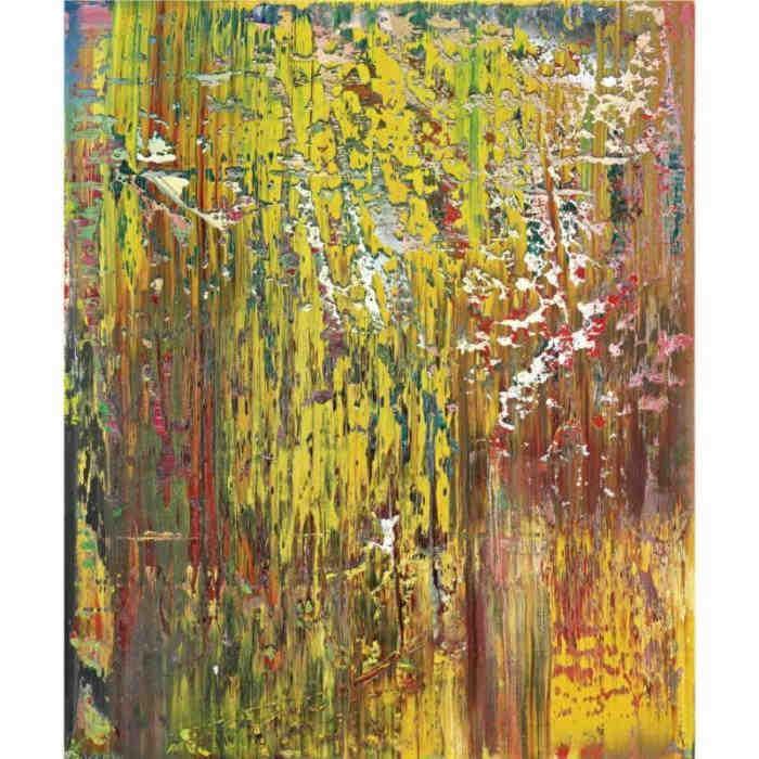Gerhard Richter-Abstraktes Bild 679-1 (Abstract Painting 679-1)-1988