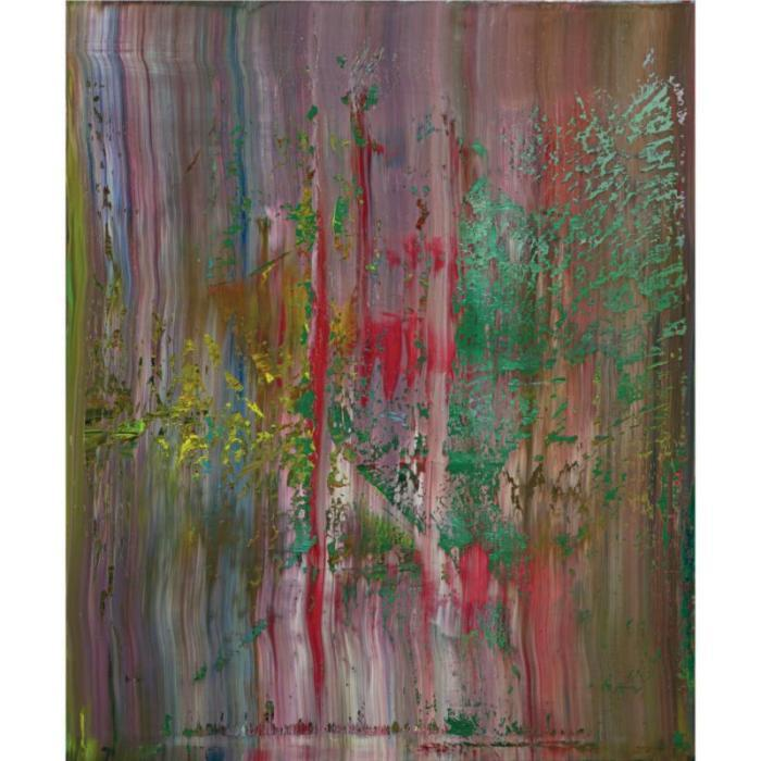Gerhard Richter-Abstraktes Bild 654-1 (Abstract Painting 654-1)-1988