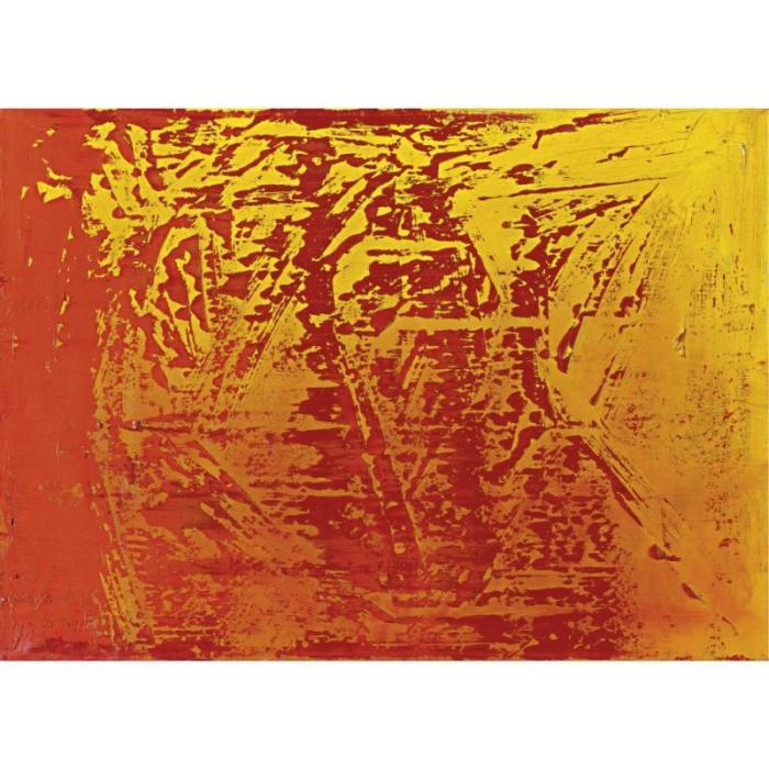 Gerhard Richter-Abstraktes Bild 454-2 (Abstract Painting 454-2)-1980