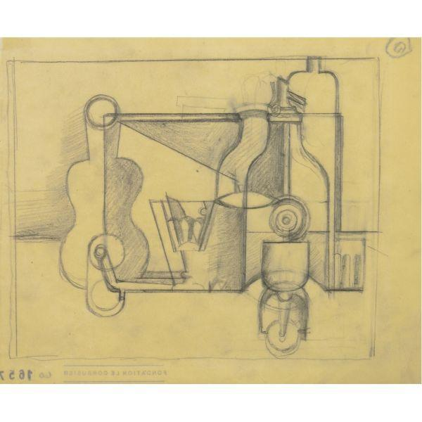 Le Corbusier-Nature Morte au Siphon-