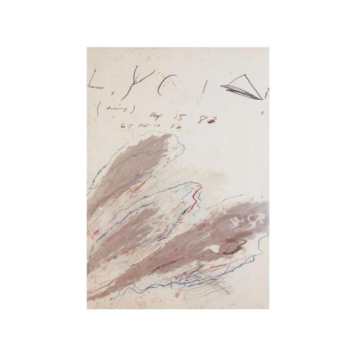 Cy Twombly-Lycian-1983