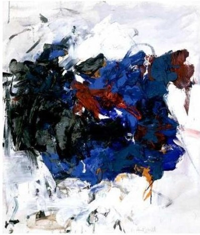 Joan Mitchell-Blues away-1964