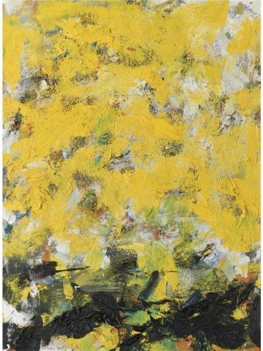 Joan Mitchell-Yellow River-1981