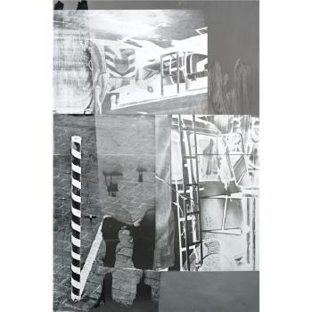 Robert Rauschenberg-Robert Rauschenberg - Memory Light (Galvanic Suite)-1988