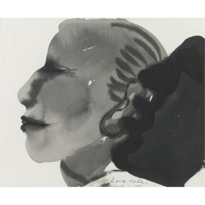 Marlene Dumas-Love Talk-1994