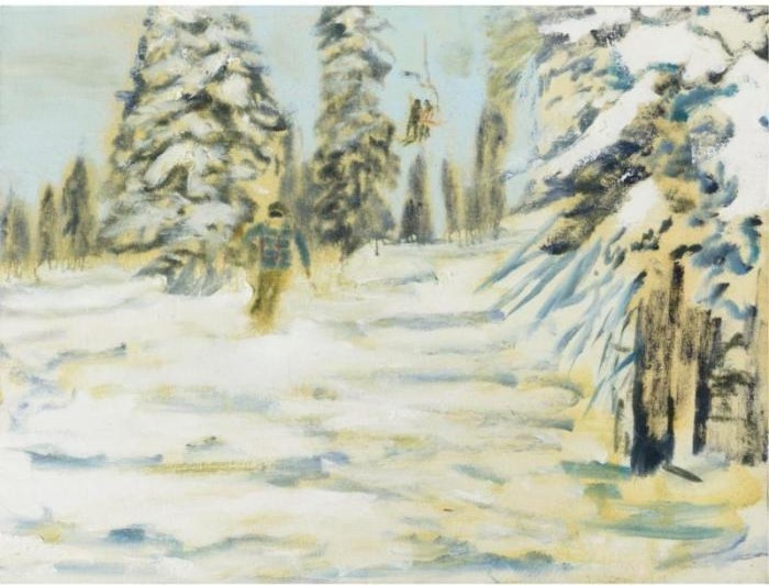 Peter Doig-Winter Landscape-1994