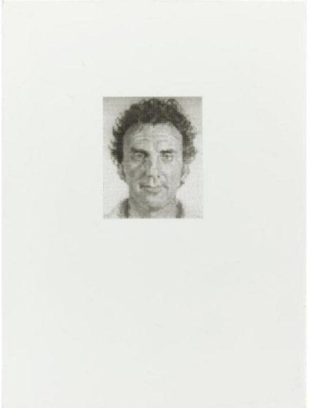Chuck Close-Don N (Don Nice)-1975
