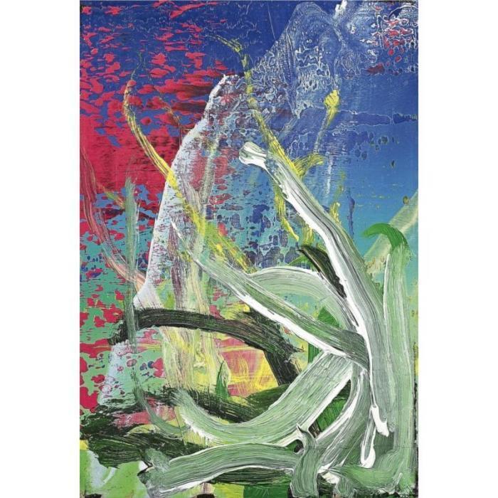 Gerhard Richter-Ohne Titel (7.10.85) / Untitled (7.10.85)-1985