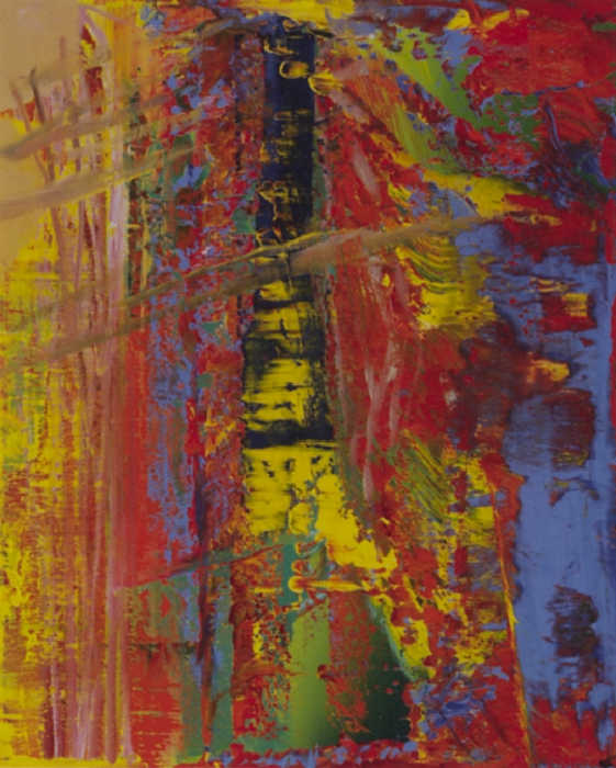 Gerhard Richter-Abstraktes Bild 608-3 (Abstract Painting 608-3)-1986