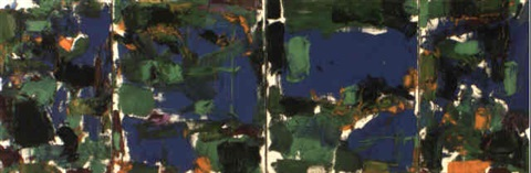 Joan Mitchell-Landscape for a Friend-1977