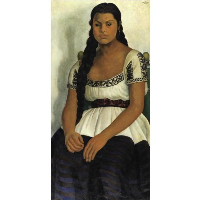 Diego Rivera-Delfina Flores-1937