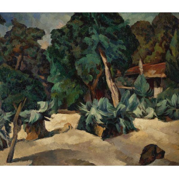 Diego Rivera-Paysage d'Arcachon-1918