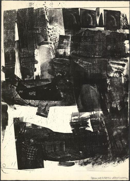 Robert Rauschenberg-Robert Rauschenberg - Spot-1964