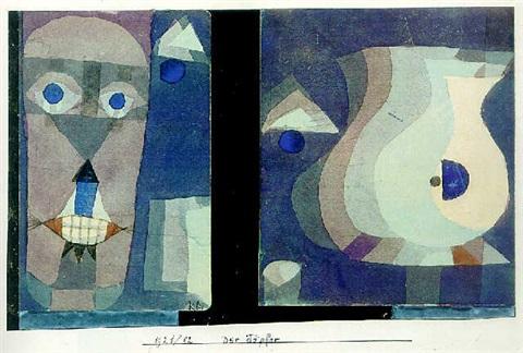 Paul Klee-Der Topfer-1921