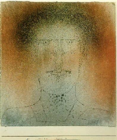 Paul Klee-Bildnis D-1925
