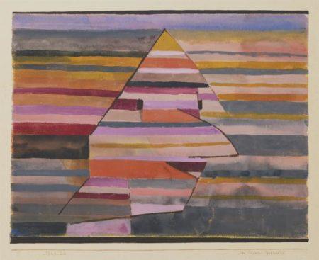 Paul Klee-Der Clown Pyramidal (The Clown Pyramidal)-1929