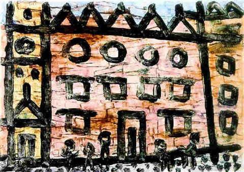 Paul Klee-Stadtbild Knossos-1940