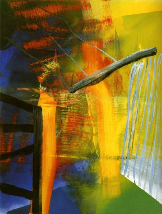 Gerhard Richter-Abstraktes Bild 552-2 (Abstract Painting 552-2)-1984