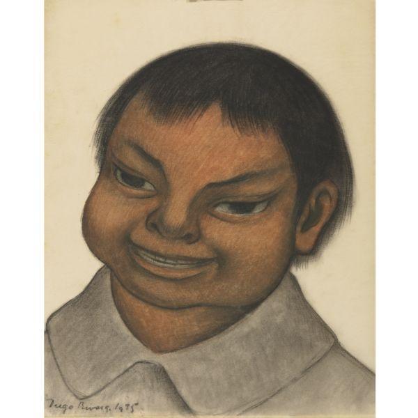 Diego Rivera-Nino-1935