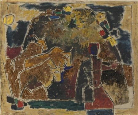 Maqbool Fida Husain-Untitled-1950