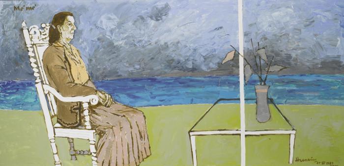 Maqbool Fida Husain-Me'me'-1983