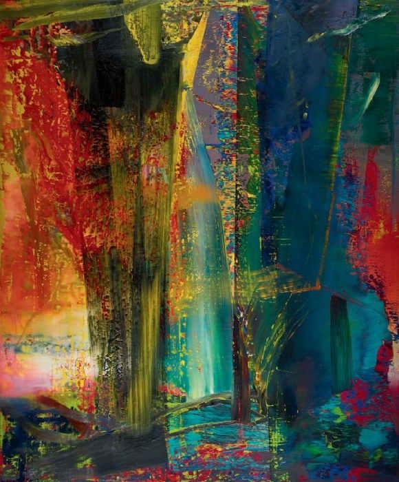 Gerhard Richter-Abstraktes Bild 599 (Abstract Painting 599)-1986