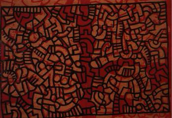 Keith Haring-Keith Haring - Untitled-1979