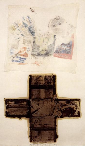 Robert Rauschenberg-Robert Rauschenberg - Untitled-1974