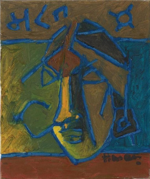 Maqbool Fida Husain-Untitled-