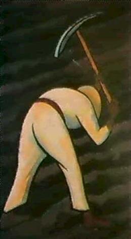 Diego Rivera-Hombre con pico-1935