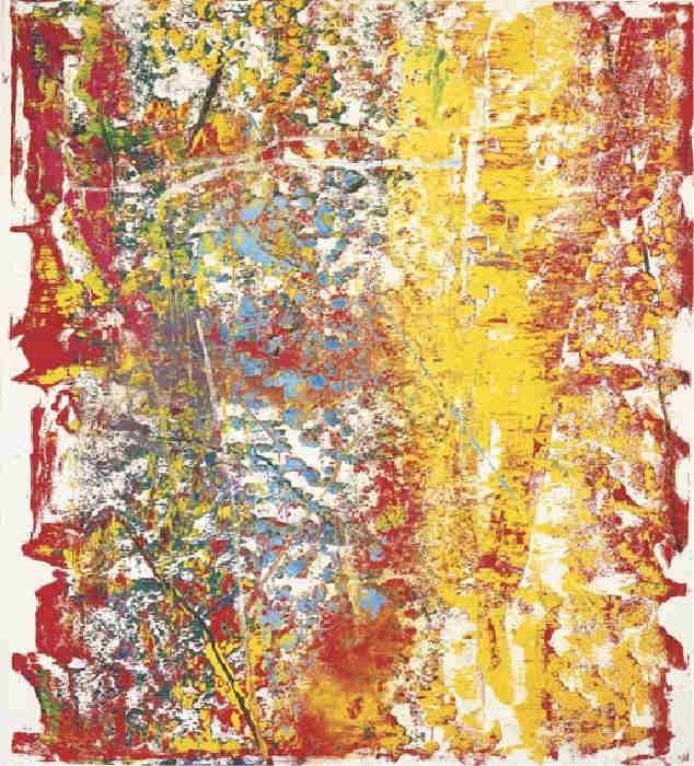 Gerhard Richter-Ohne Titel (4.5.86) / Untitled (4.5.86)-1986