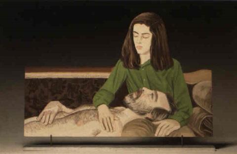 Alex Katz-The Ecstacy of Saint Francis-1972