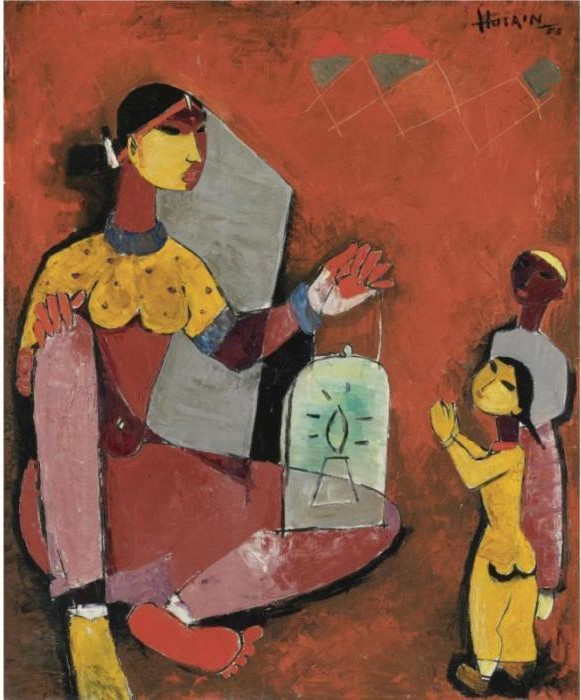 Maqbool Fida Husain-Untitled-1953