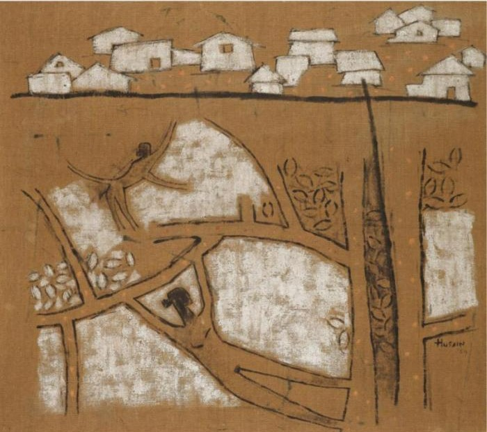 Maqbool Fida Husain-Untitled-1954