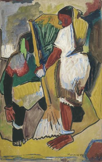 Maqbool Fida Husain-Untitled-1949