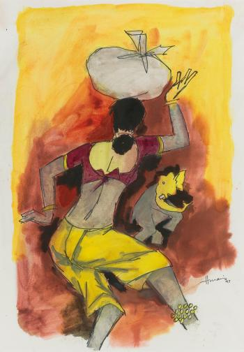 Maqbool Fida Husain-Untitled-1997