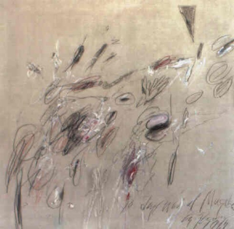 Cy Twombly-10 Day After At Mugda-1963