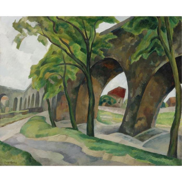 Diego Rivera-Acueducto-1918