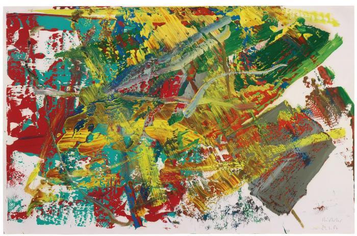 Gerhard Richter-Ohne Titel (21.3.86) / Untitled (21.3.86)-1986