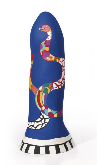 Niki de Saint Phalle-Petit obelisque au serpent-1987