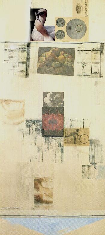 Robert Rauschenberg-Robert Rauschenberg - Untitled (Cranberry Marsh)-1980