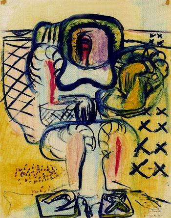 Le Corbusier-Composition-1946