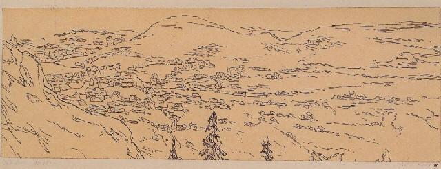 Paul Klee-Interlaken Von Oben (Inter-Laken As Seen From Above)-1909