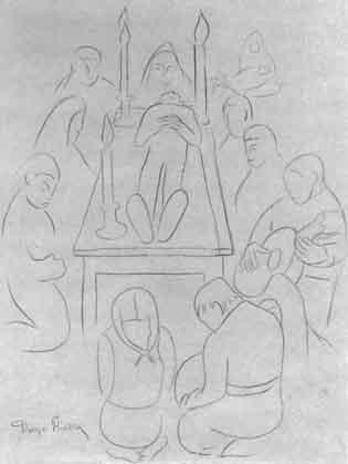 Diego Rivera-The Wake-