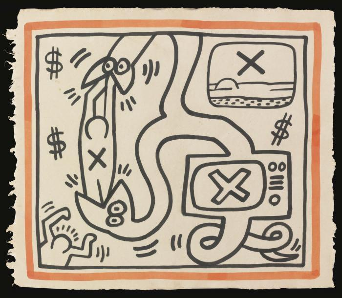 Keith Haring-Keith Haring - Untitled-1989