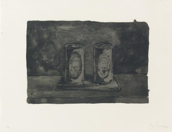 Jasper Johns-Ale Cans-1975