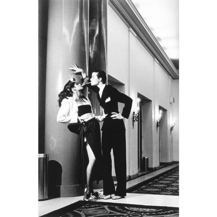 Helmut Newton-Woman into Man, Paris-1979